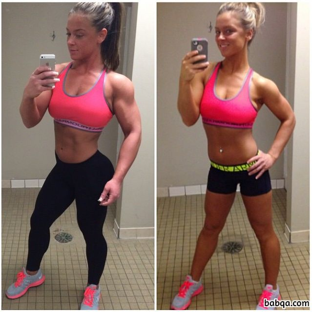 cute female bodybuilder with strong body and toned legs photo from flickr