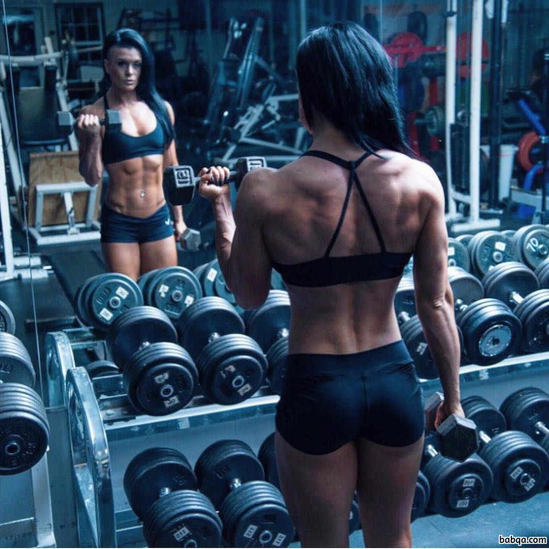 spicy babe with strong body and muscle biceps pic from g+