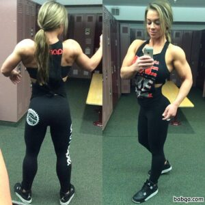 perfect female bodybuilder with muscular body and muscle bottom post from reddit