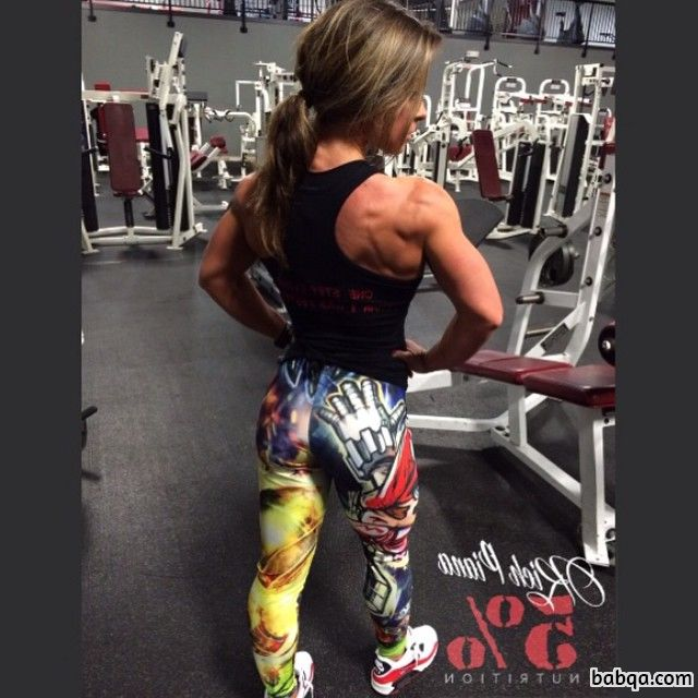 spicy woman with muscular body and muscle ass repost from reddit