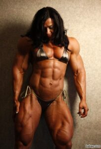 hot female bodybuilder with muscular body and muscle ass picture from flickr