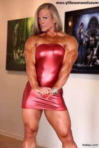 spicy female bodybuilder with strong body and toned bottom photo from g+