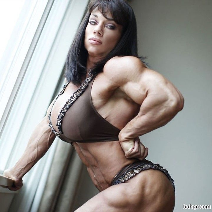 spicy female with muscular body and muscle bottom pic from flickr