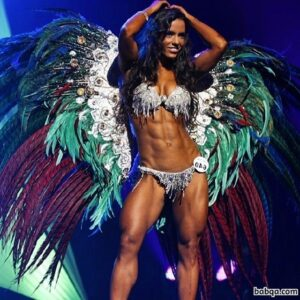 hottest woman with strong body and toned legs picture from tumblr