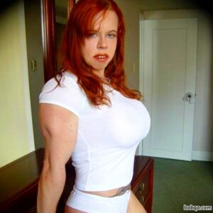 spicy female with muscular body and toned arms photo from flickr