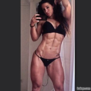 hottest babe with muscle body and toned booty image from linkedin
