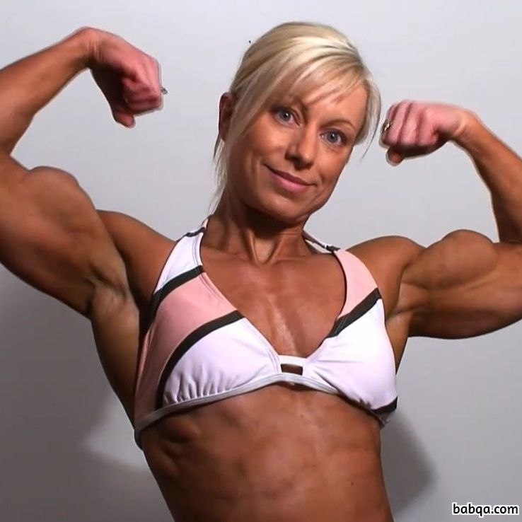 sexy female bodybuilder with muscle body and muscle booty pic from flickr