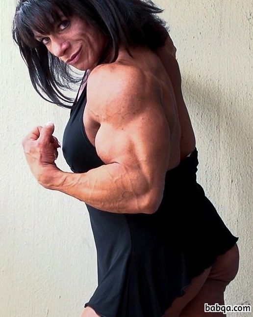 beautiful female bodybuilder with muscle body and toned legs photo from facebook