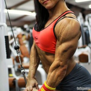 awesome female bodybuilder with fitness body and muscle ass pic from linkedin