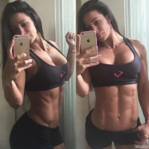 perfect female bodybuilder with fitness body and toned booty picture from reddit