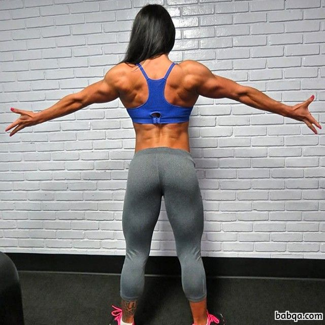 beautiful girl with fitness body and toned legs repost from tumblr