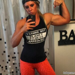 spicy female with muscular body and muscle booty photo from tumblr