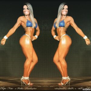 hottest girl with muscular body and toned biceps pic from flickr