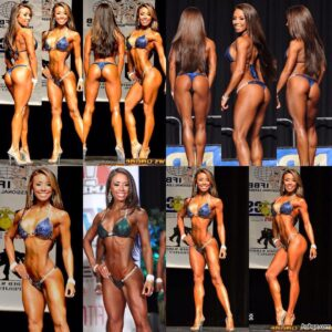 spicy female bodybuilder with muscular body and muscle bottom post from flickr