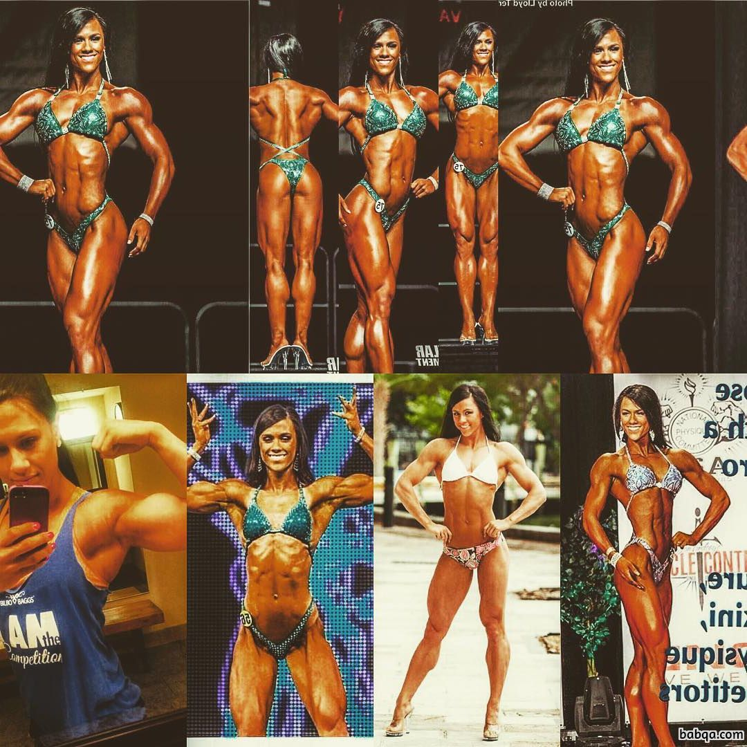 beautiful babe with muscle body and muscle arms repost from linkedin
