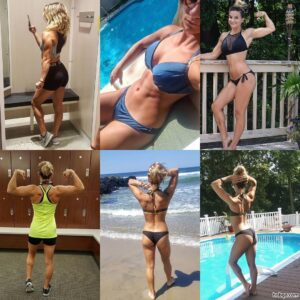 perfect chick with fitness body and muscle bottom image from linkedin