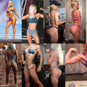 cute female bodybuilder with muscular body and muscle booty pic from tumblr