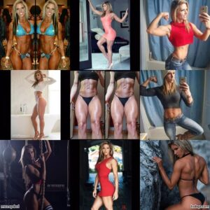 sexy female bodybuilder with fitness body and toned arms picture from flickr