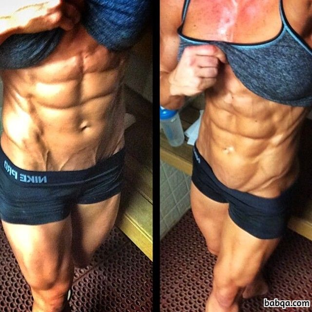 hottest lady with strong body and toned arms photo from linkedin