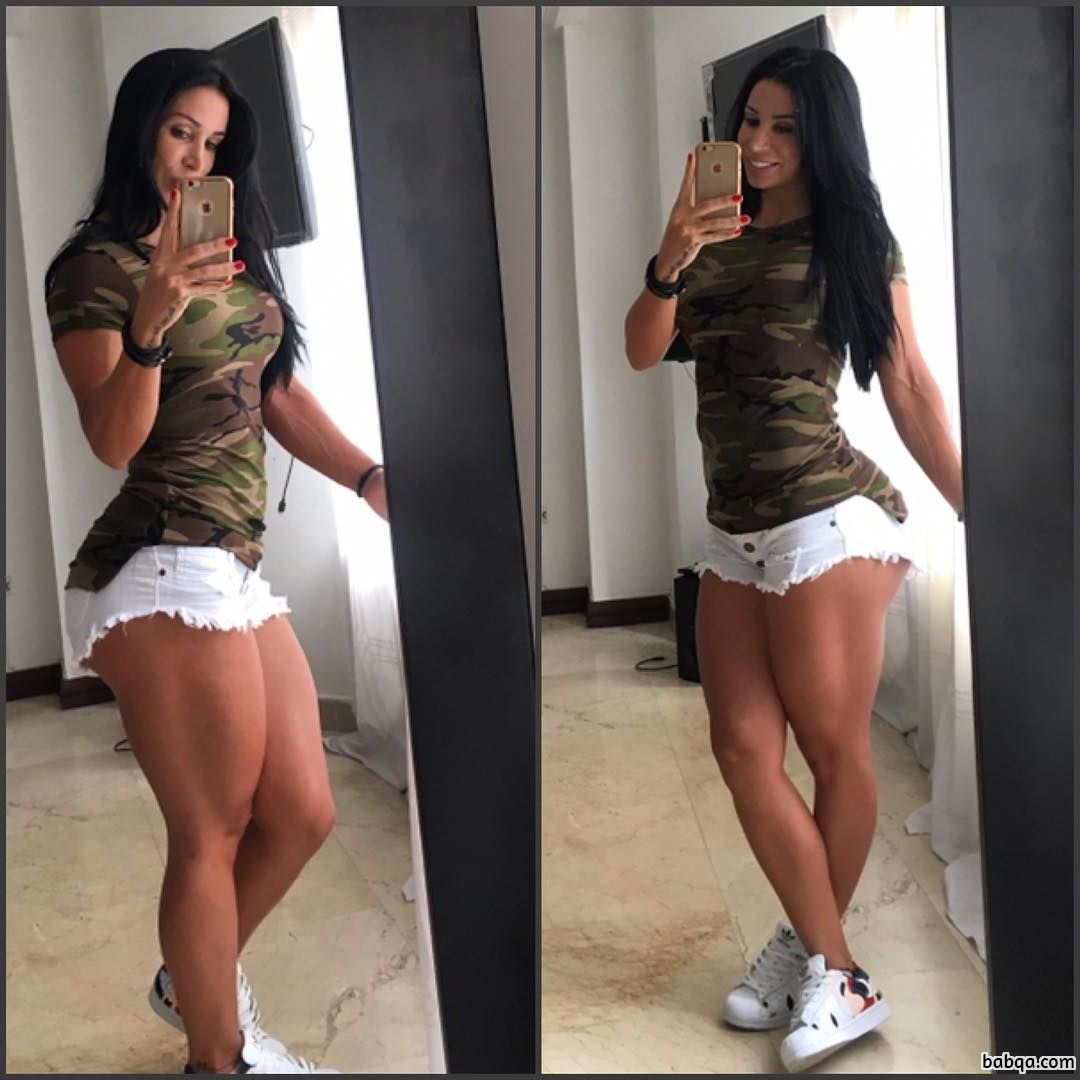 hottest female bodybuilder with strong body and toned arms image from flickr