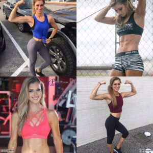 hottest female bodybuilder with muscular body and muscle arms repost from facebook