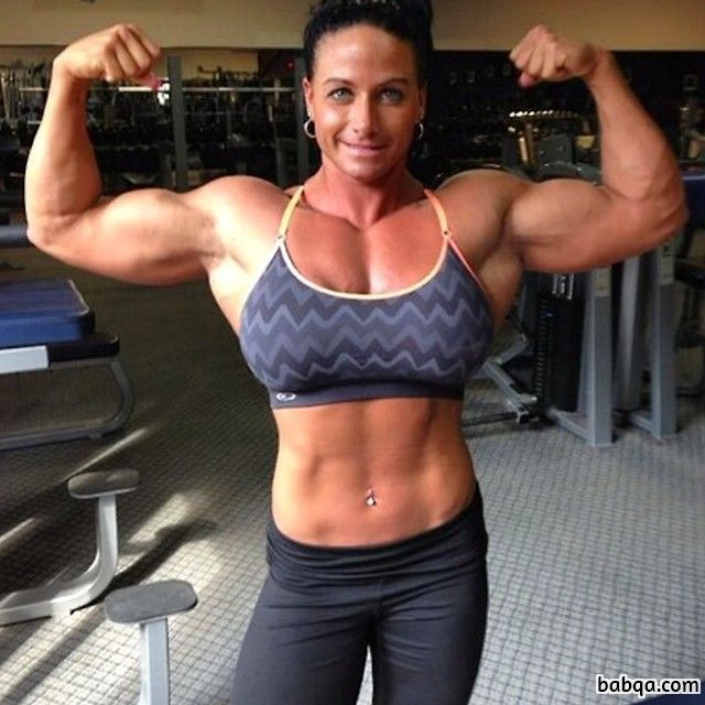 perfect lady with muscular body and muscle ass pic from tumblr