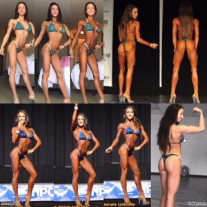 hottest girl with muscle body and toned legs repost from flickr