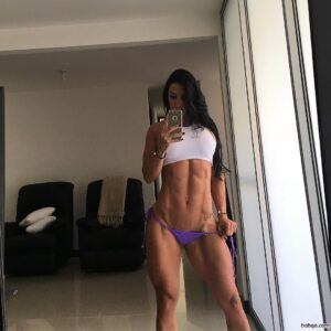 spicy chick with muscle body and toned legs pic from tumblr