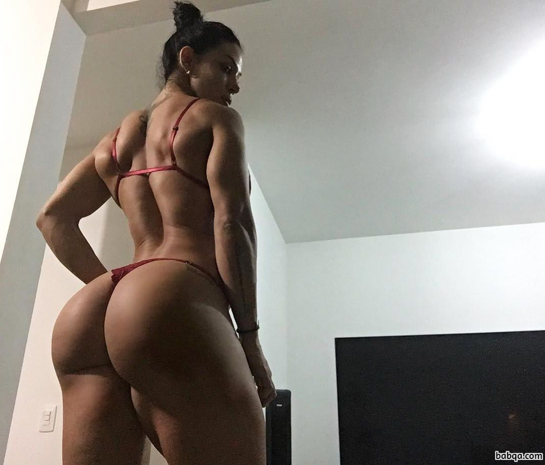 awesome babe with fitness body and muscle booty photo from flickr