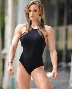 sexy female with strong body and toned arms post from reddit