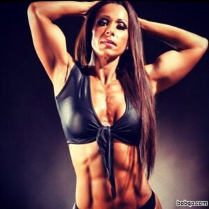 cute lady with strong body and muscle ass photo from linkedin
