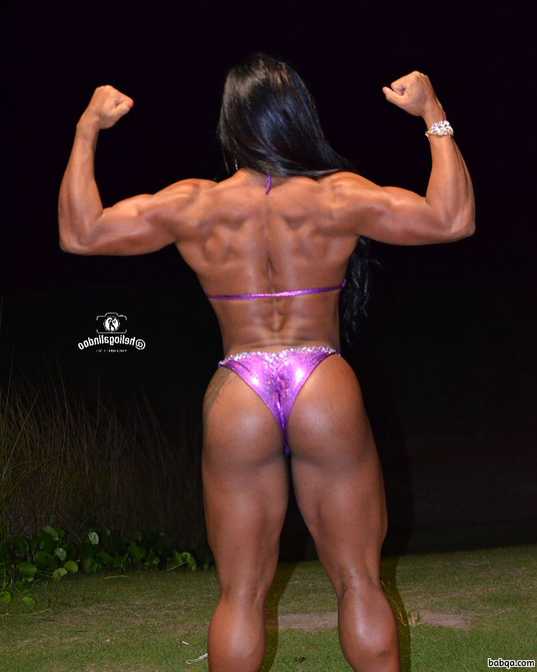 spicy female bodybuilder with muscular body and toned booty photo from flickr