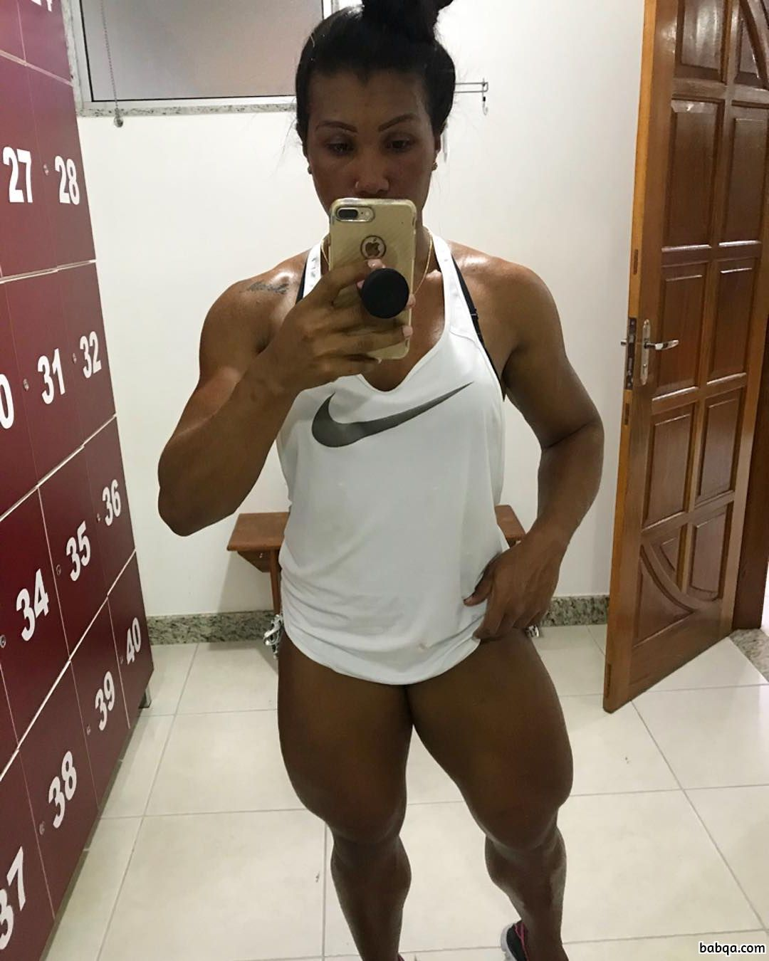perfect woman with strong body and muscle bottom image from reddit