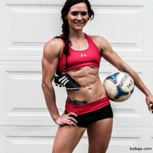 hot girl with strong body and toned arms image from reddit