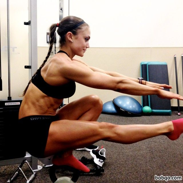 hottest woman with muscular body and muscle biceps post from reddit