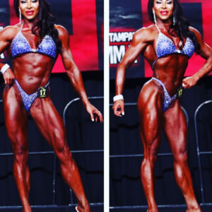 spicy babe with muscle body and muscle biceps photo from linkedin
