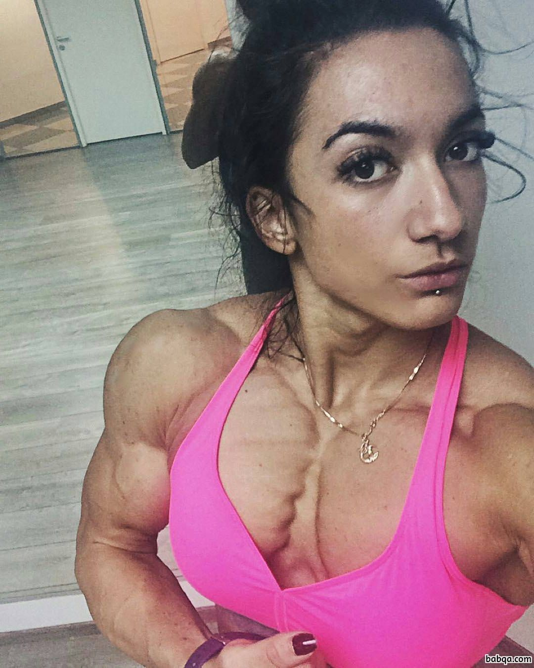 perfect lady with fitness body and muscle booty image from linkedin