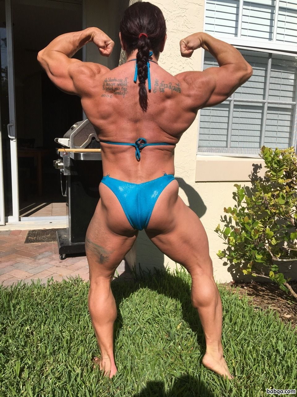 awesome female with muscle body and toned booty pic from tumblr