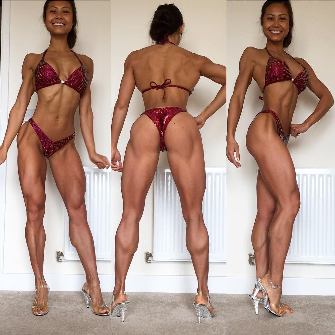perfect babe with strong body and toned booty image from reddit