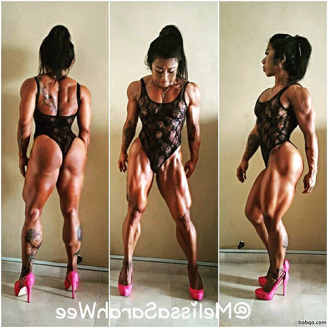 hot babe with muscle body and toned bottom repost from facebook