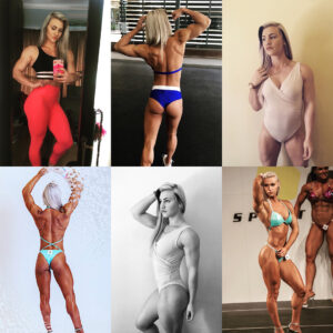 awesome female bodybuilder with strong body and toned booty photo from reddit