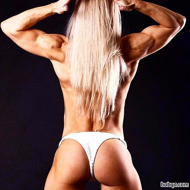 perfect female with muscular body and muscle ass photo from tumblr