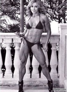 cute woman with strong body and toned legs picture from tumblr