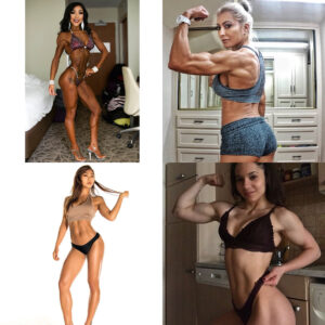 beautiful female bodybuilder with muscle body and toned booty pic from linkedin