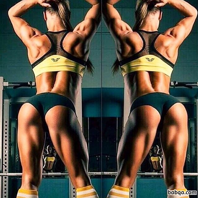 hottest woman with muscle body and muscle bottom picture from linkedin