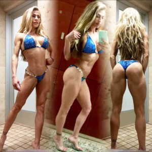 sexy lady with muscular body and muscle ass post from reddit