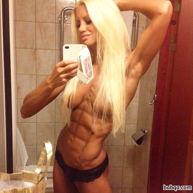 hottest woman with fitness body and toned arms picture from flickr
