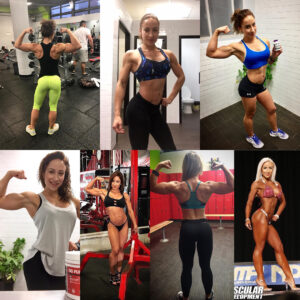 cute girl with muscle body and muscle bottom picture from facebook