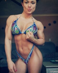 hottest female with muscular body and muscle booty post from tumblr