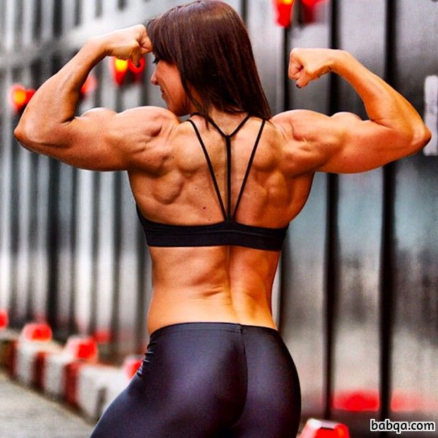 sexy girl with muscular body and muscle ass pic from linkedin